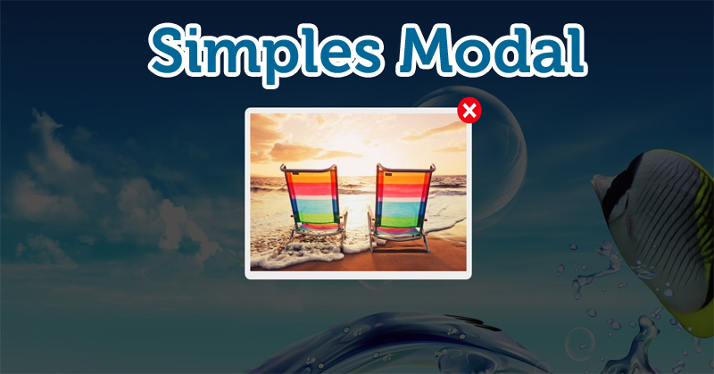 Simples Modal - CSS - jQuery